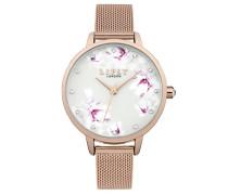 Datum klassisch Quarz Uhr mit Aluminium Armband LP577