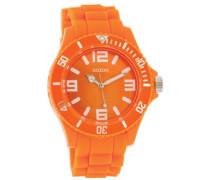Armbanduhr Silicone Collection Analog Silikon orange C4287