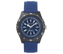 Analog Quarz Uhr mit Silikon Armband NAPIBZ008