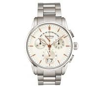 Bruno Söhnle Armbanduhr Grandioso Chronograph Quarz Edelstahl 17-13117-246