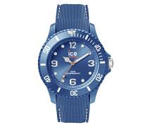 ICE sixty nine Blue jean - Blaue Herrenuhr mit Silikonarmband - 013618 (Large)