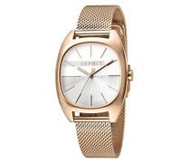 Analog Quarz Uhr mit Edelstahl Armband ES1L038M0105