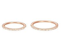 Ring JW50217 Rose 925 Silber teilvergoldet Zirkonia weiß