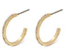 Damen-Creole Vergoldet Kristall 601832053