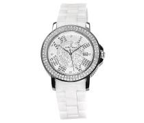 Armbanduhr Analog Quarz Premium Keramik Diamanten - STM15P1