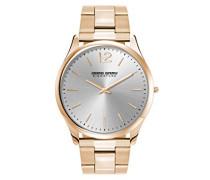 Armbanduhr XL Analog Quarz Edelstahl JGS2560B