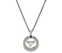 Celesta Silber Anhänger mit Kette 925 Sterling Silber rhodiniert Zirkonia weiß Brillantschliff 40 cm 500244961-40