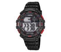-Armbanduhr Digital Digital Plastik K5702/5