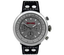 Herren-Armbanduhr Analog Quarz Leder 92-0002-502