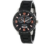 Armbanduhr XL 400 Chronograph Edelstahl beschichtet R3273619001