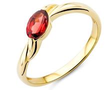 Ring 9 Karat (375) Gelbgold mit Granat