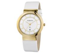 Damen-Armbanduhr Farron Analog Quarz Leder