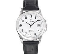 Herren-Armbanduhr Analog Quarz Schwarz 610724