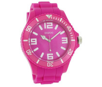 Armbanduhr Silicone Collection Analog Silikon pink C4166
