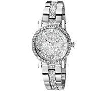 Analog Quarz Uhr mit Edelstahl Armband MK3775