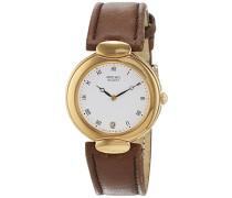Datum klassisch Quarz Uhr mit Leder Armband 810144