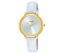Damen Analog Quarz Uhr mit Leder Armband PH8358X1