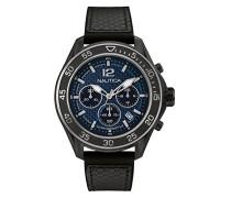 Chronograph Quarz Uhr mit Gummi Armband NAD25506G