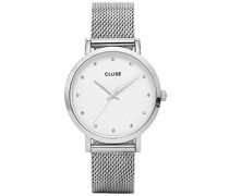 Damen-Armbanduhr Analog Quarz Edelstahl CL18301