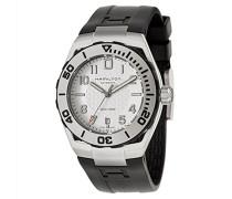 Armbanduhr XL Analog Automatik Leder H70595593