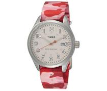 Damen Armbanduhr Analog Quarz Nylon T2N350CP