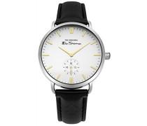 Datum klassisch Quarz Uhr mit PU Armband BS009WB