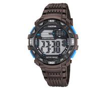 -Armbanduhr Digital Digital Plastik K5702/4