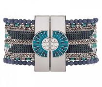 Damen-Manschetten Armbänder Versilbert E18SETERNA