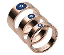 Stapelring Edelstahl mit '- Ringgröße 50 (15.9) EGS2528221-5.5