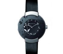Damen-Armbanduhr Analog Quarz Leder A0500RNPN