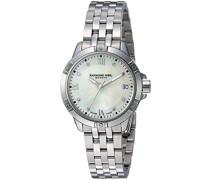 Analog Quarz Uhr mit Edelstahl Armband 5960-ST-00995
