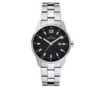 Unisex-Armbanduhr Analog Quarz Silber 7715.1137