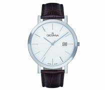 Analog Quarz Uhr mit Leder Armband 1230.1933