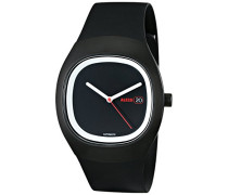 Armbanduhr Analog Quarz Kunststoff schwarz AL21001