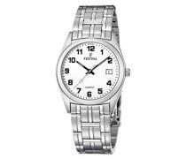 Armbanduhr XL Klassik Analog Edelstahl F8825/4