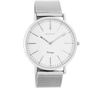 Digital Quarz Uhr mit Edelstahl Armband C7385
