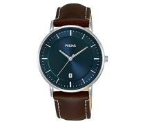 Herren-Armbanduhr Analog Quarz Leder PG8257X1