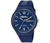 Erwachsene Analog Quarz Uhr mit Silikon Armband SYG179UU