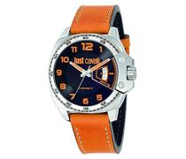 Armbanduhr JUST Escape Analog Quarz Leder R7251213003