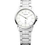 Herren-Armbanduhr XL Analog Edelstahl 132-7708-88