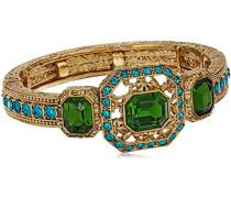 Damen-Armband Kristall Grün 17.78 cm - 61538