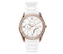 Armbanduhr Analog Quarz Premium Keramik Diamanten - STM15M5