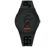 Analog Quarz Uhr mit Silikon Armband SYG189NB