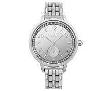 Datum klassisch Quarz Uhr mit Aluminium Armband LP564