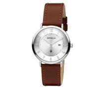 Damen-Armbanduhr Tribute Analog Quarz Leder 11602