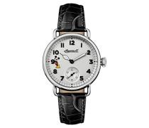 Damen Analog Quarz Uhr mit Leder Armband ID00101