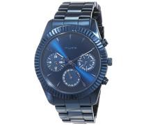 Chronograph Quarz Uhr mit Edelstahl Armband 701740200