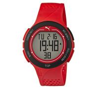 Armbanduhr PU-Touch- red black Digital Quarz Kautschuk PU911211002