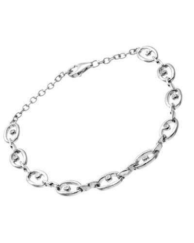 Damen-Armband Sterlingsilber Diamanten