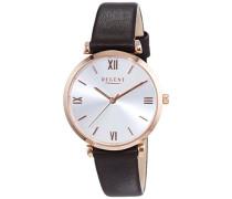 Damen-Armbanduhr XS Analog Quarz Leder 12100597